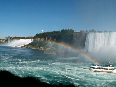 Rainbow in Niagara