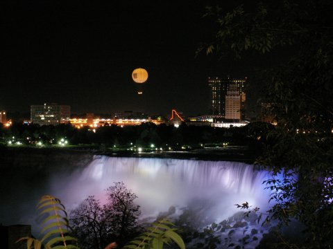 Niagara in Lights